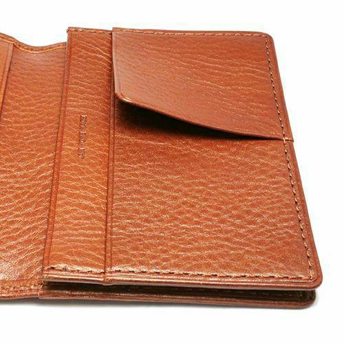 6月誕生石 アリゾナレザーカードケース - ブラウン / 名刺入れ / 財布・革財布