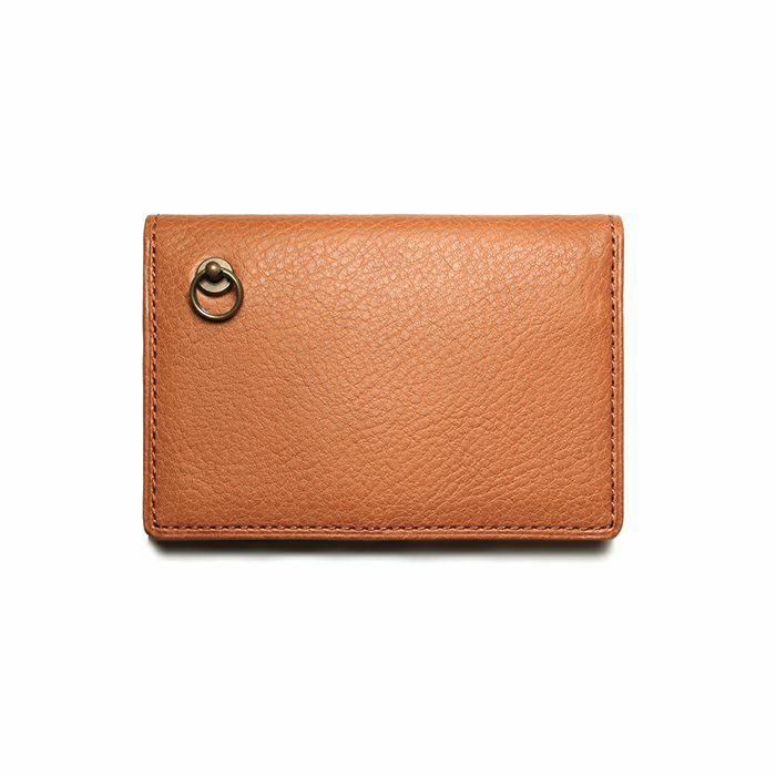 5月誕生石 アリゾナレザーカードケース - ブラウン / 名刺入れ / 財布・革財布