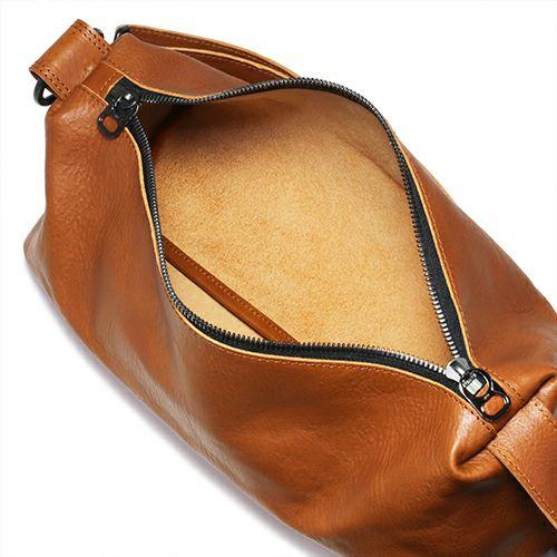 アリゾナレザー ショルダー バッグ M - ブラウン / レディース / リュック・バッグ