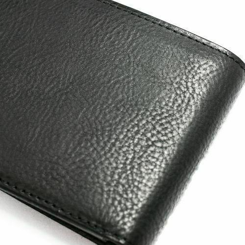 6月誕生石 アリゾナレザー 二つ折り財布 - ブラック / ミディアムウォレット / 財布・革財布 > メンズ 財布 > メンズ 二つ折財布・三つ折財布