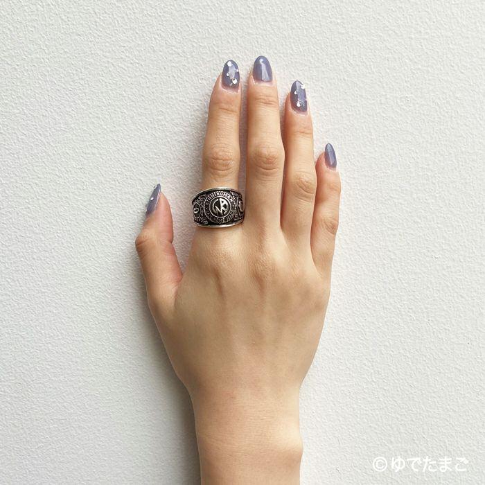 【ジャムホームメイド(JAMHOMEMADE)】キン肉マン KINマーク チャンピオンリング