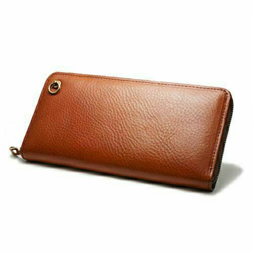 2月誕生石 アリゾナレザー ラウンドファスナー 長財布 ブラウン / ロングウォレット / 財布・革財布 > メンズ 財布・ウォレット > メンズ 長財布