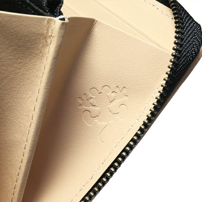 ミッキー ビッグアイコン ラウンドファスナー 長財布 / ロングウォレット -ヌメ- / 財布・革財布 > メンズ 財布・ウォレット > メンズ 長財布