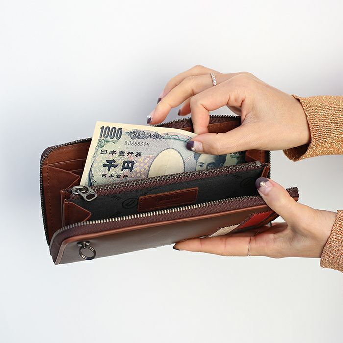 グラム/glamb GAUDY ラウンドファスナー 長財布 - マルチ / レディース / 財布・革財布