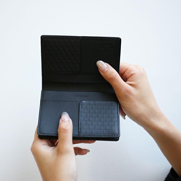 ミッキー アイコンカードケース / 名刺入れ / レディース / 財布・革財布
