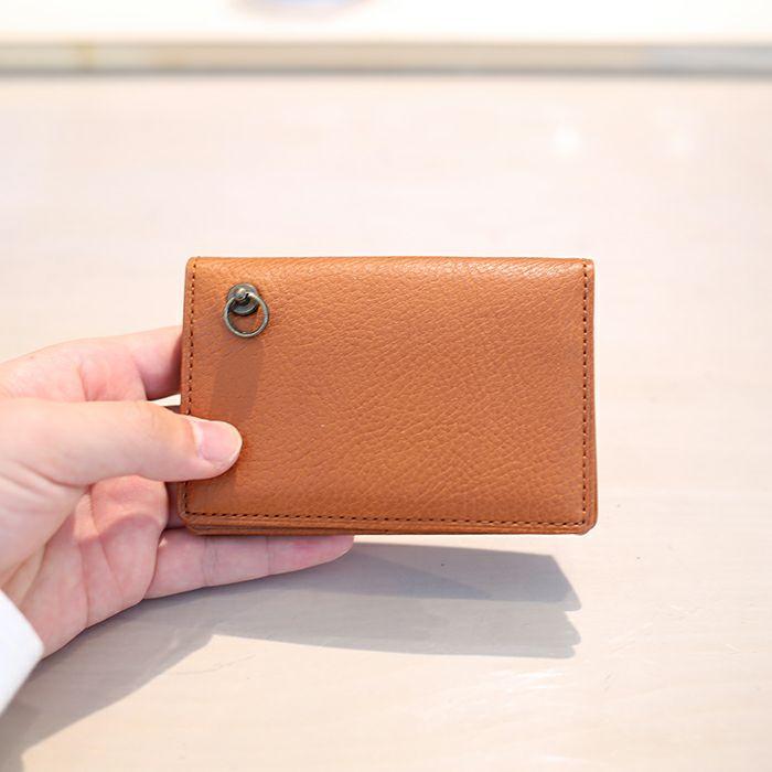 アリゾナレザー カードケース - ブラウン / 名刺入れ / レディース / 財布・革財布
