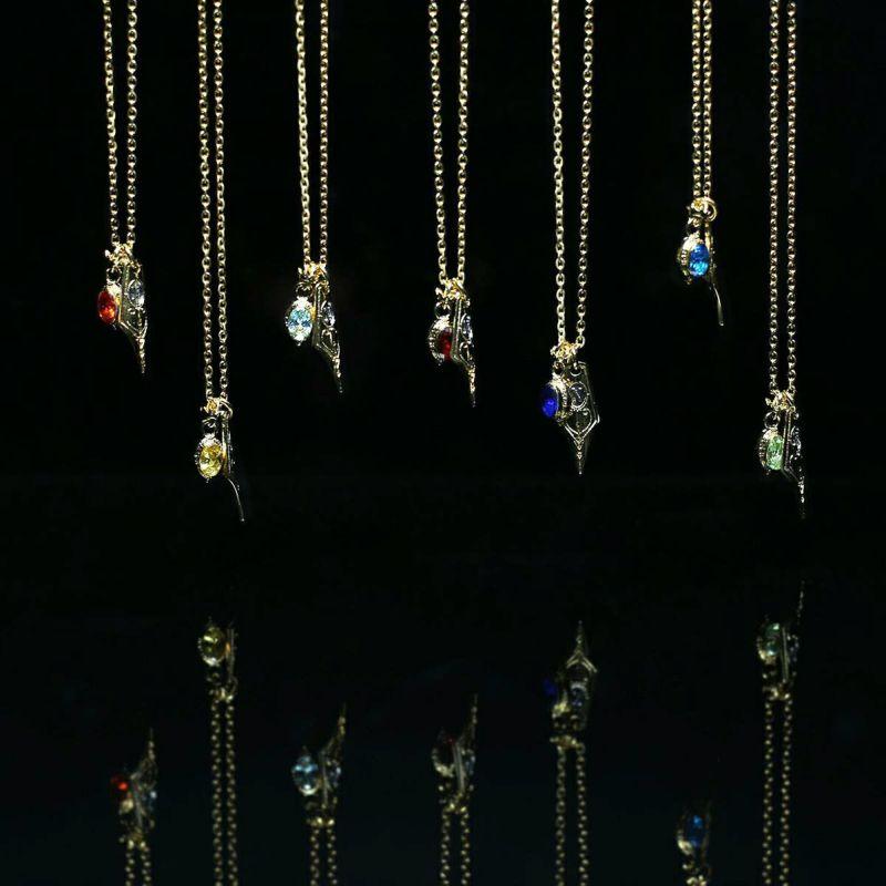 【ジャムホームメイド(JAMHOMEMADE)】オクタヴィネル マジカルペンデザインネックレス  (ディズニー ツイステッドワンダーランド)