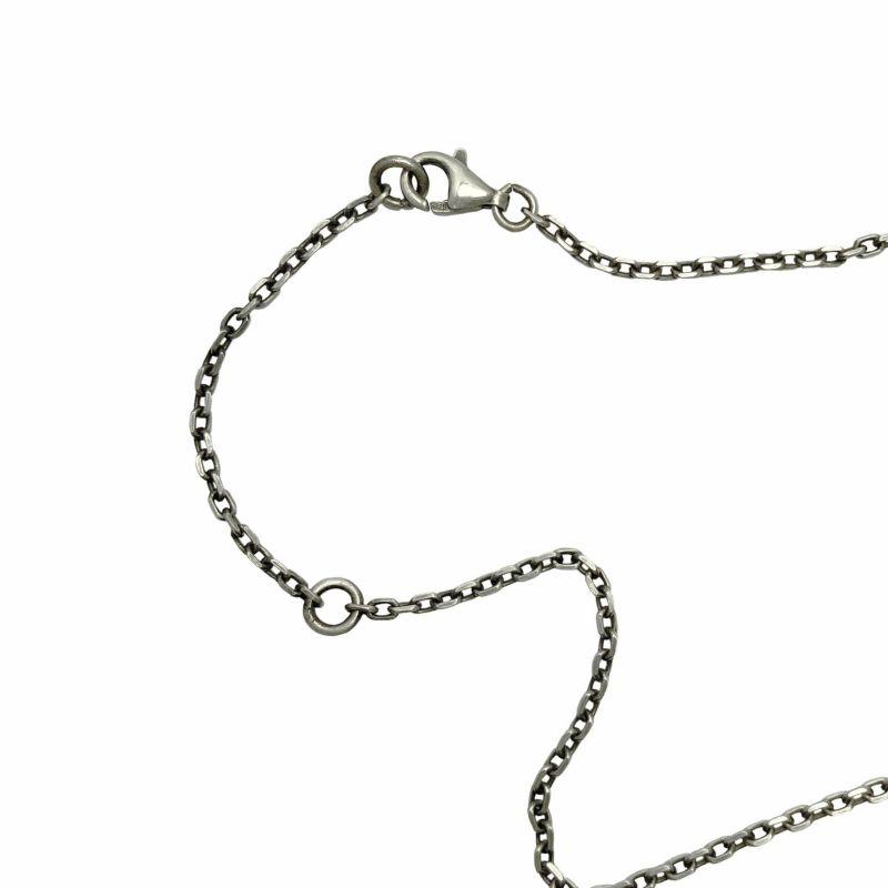 ミッキー マウス ベビーリング ネックレス - シルバー / ネックレス