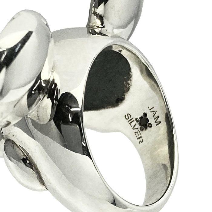 ミッキー マウス フェイス リング - シルバー S / 指輪・リング