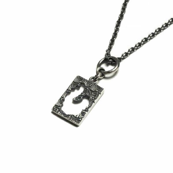 坂元勝彦 十二支 プレート ネックレス -酉(鶏)- / ネックレス