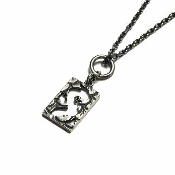 坂元勝彦 十二支 プレート ネックレス -辰(竜)- / ネックレス
