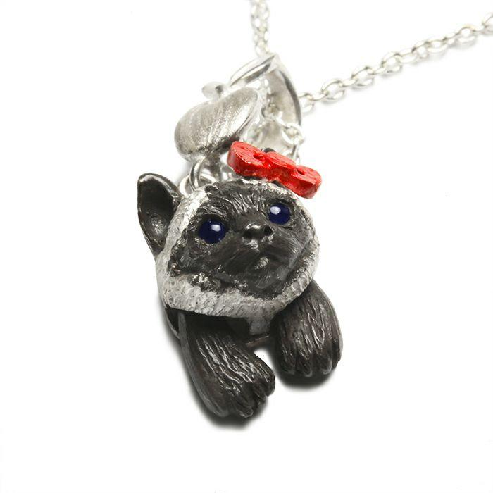 【ジャムホームメイド(JAMHOMEMADE)】ハローキティ/Hello Kitty JAM猫 ネックレス