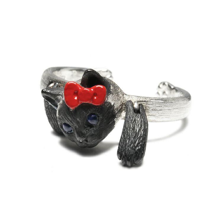 【ジャムホームメイド(JAMHOMEMADE)】ハローキティ/Hello Kitty JAM猫 リング / 指輪