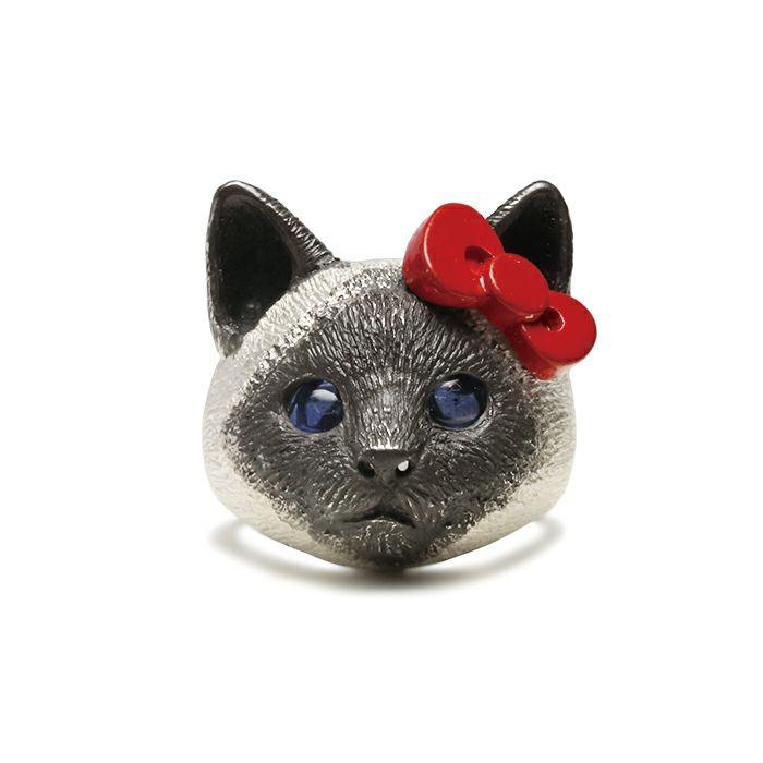 ハローキティ/Hello Kitty JAM猫 フェイス リング / 指輪 / コラボレーション・ブランドコラボ > ハローキティ(HELLO KITTY)