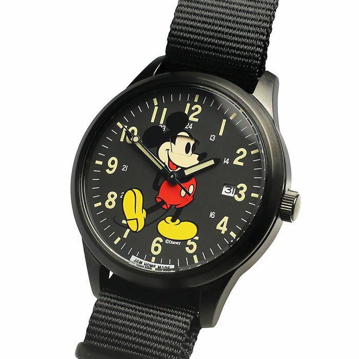 【ジャムホームメイド(JAMHOMEMADE)】シークレット ミッキー ウォッチ タイプ2 フルカラー / 腕時計