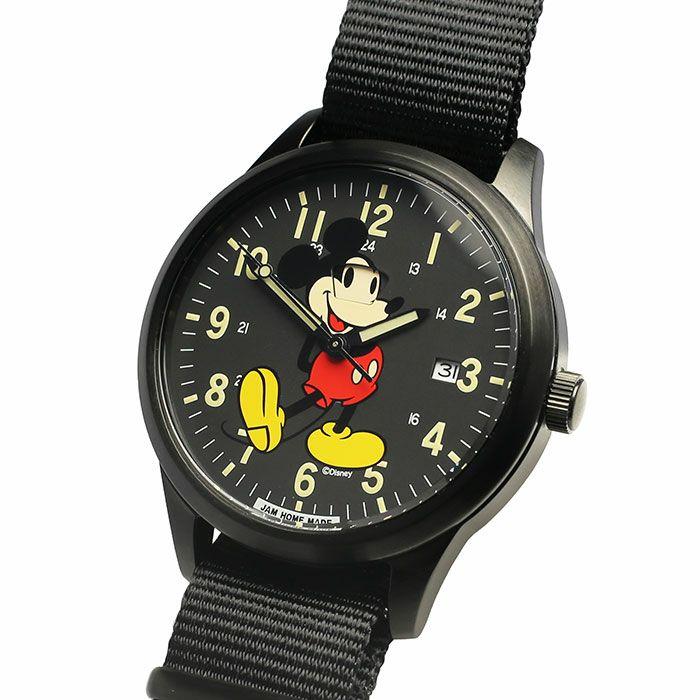 【ジャムホームメイド(JAMHOMEMADE)】シークレット ミッキー ウォッチ タイプ2 フルカラー レディース / 腕時計