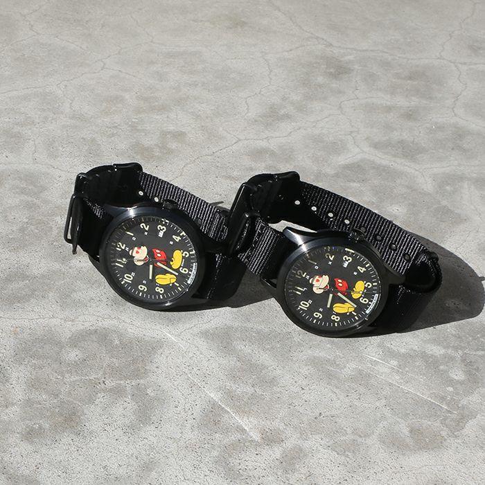 【ジャムホームメイド(JAMHOMEMADE)】シークレット ミッキー ウォッチ タイプ2 ペア フルカラー × フルカラー / 腕時計